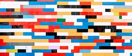 Legosteine und Reimformen