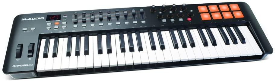 Rap Equipment Keyboard M-Audio Oxygen 49 Mk4