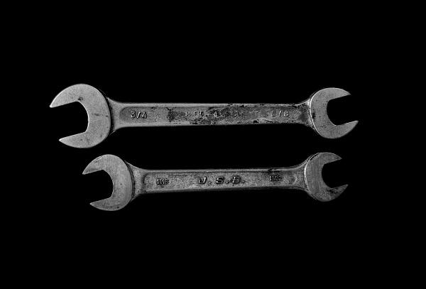 Reimarten und Schraubenschlüssel