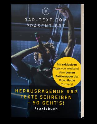Rappen lernen mit dem Rap-Text.com Praxisbuch